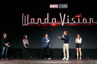 『WandaVision(ワンダヴィジョン)』(2021年配信予定)(C)2019 Getty Images
