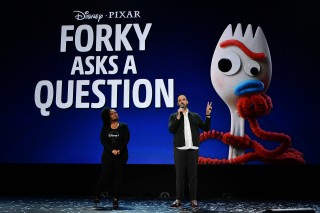 『Forky Asks A Question』(11月12日配信予定)(C)2019 Getty Images
