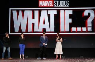 アニメーション・シリーズ『What If ...?』(2021年配信予定)(C)2019 Getty Images