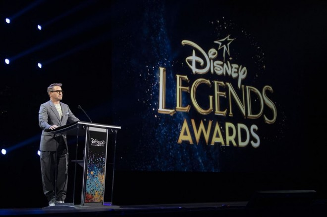 「ディズニー・レジェンド」として表彰されたロバート・ダウニー・Jr.(C)2019 Getty Images