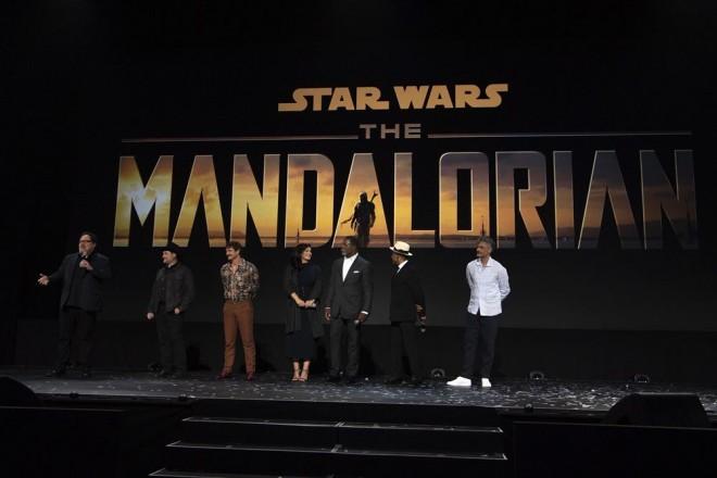 『The Mandalorian』(11月12日配信開始予定)(C)2019 Getty Images