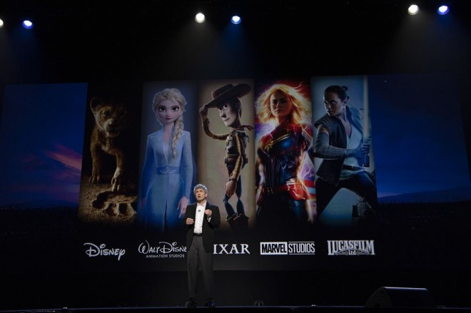 Disney Studios Showcase Presentation At D23 Expo, Saturday August 24(C)2019 Getty Images