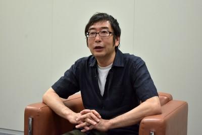インタビューに応える蒔田氏