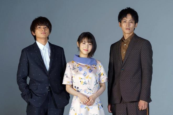 (左から)北村匠海、浜辺美波、松坂桃李 (C)ORICON NewS inc.