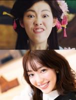 """『戦国布武』CMで話題の""""変顔姫""""、正体は20歳のモデル系女子「印象に残れて嬉しい」"""