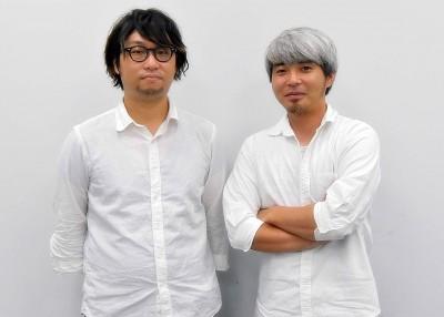 写真左から菊池武博プロデューサー、小松幸敏プロデューサー