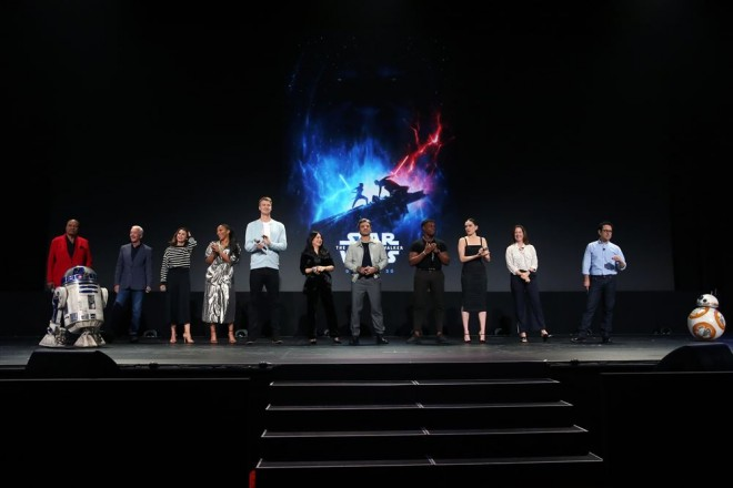 D23 Expo 2019 にて(C)2019 Getty Images