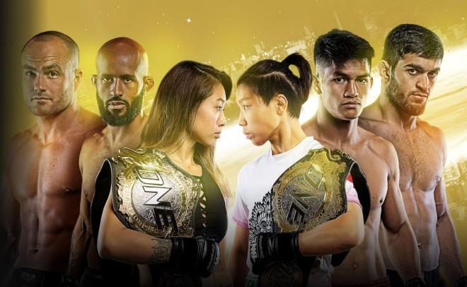『ONE』では世界トップクラスの女性格闘家の試合も実施される。