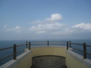 異国の見える丘展望所からの景色