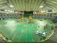嵐から東方神起まで…東京ドームをたった一晩で野球場から音楽ステージに変える設営テク