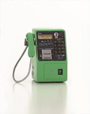 ディジタル公衆電話機(平成28年) 画像提供:NTT東日本 協力:NTT技術史料館