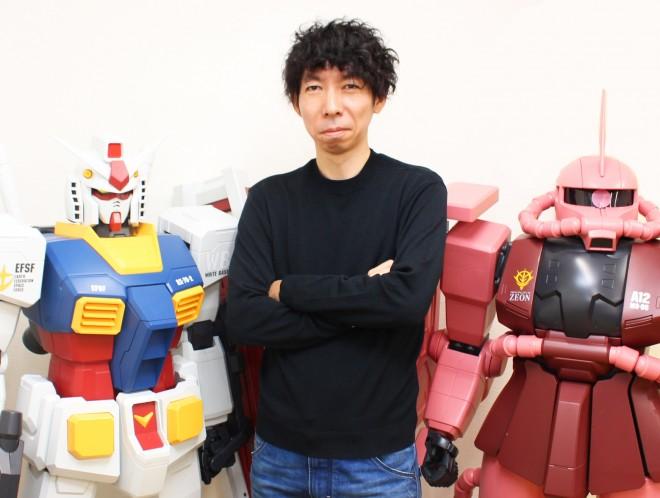 サンライズの小形尚弘ゼネラルマネージャー(C)創通・サンライズ