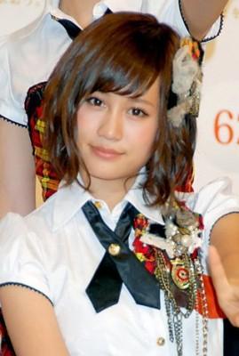 一世を風靡したAKB48時代の前田敦子(C)ORICON NewS inc.