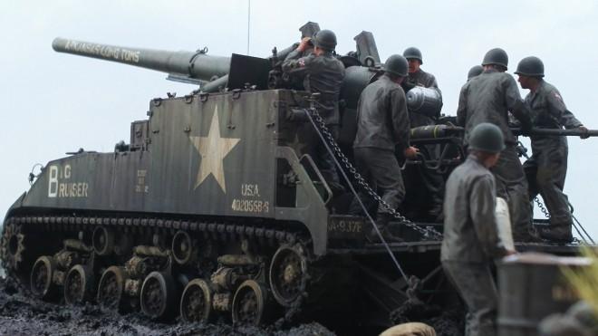 作品:アメリカ陸軍155mm M40自走砲「ビッグショット」/制作:空探
