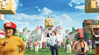 日本より世界の反響が3倍ほど大きいという『SUPER NINTENDO WORLD』ミュージックビデオ(C)Nintendo