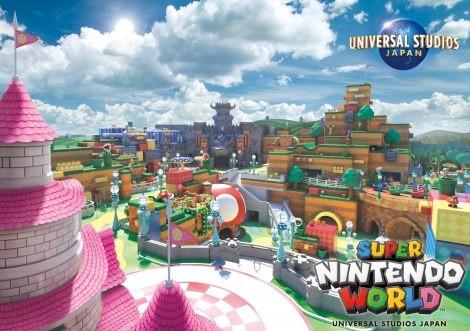 『SUPER NINTENDO WORLD』完成イメージ(C)Nintendo