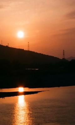 和歌山の夕日