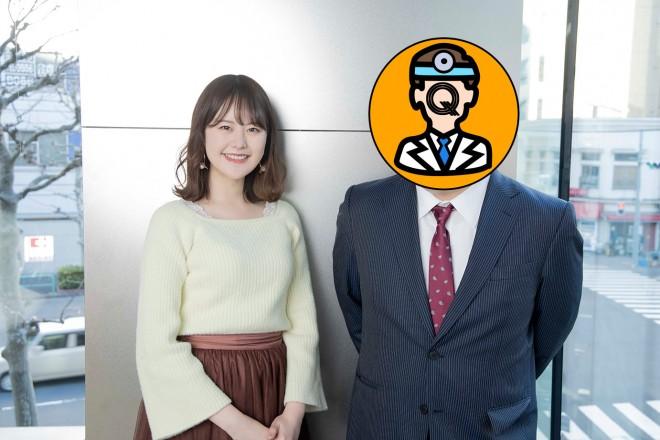 整形アイドル轟ちゃん(左)、鈴川恵康氏(右)(撮影/草刈雅之) (C)oricon ME inc.