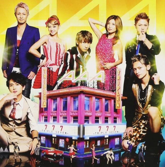 AAA『777 〜TRIPLE SEVEN〜(通常版)』avex trax、2012年
