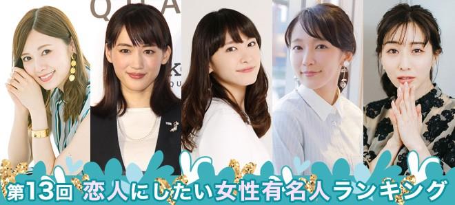 女優 ランキング 日本
