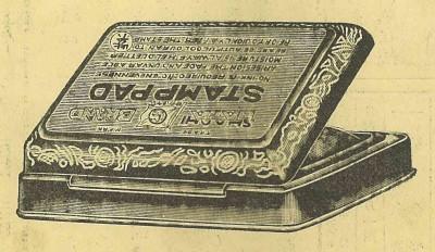 1925年に発売された『万年スタンプ台』
