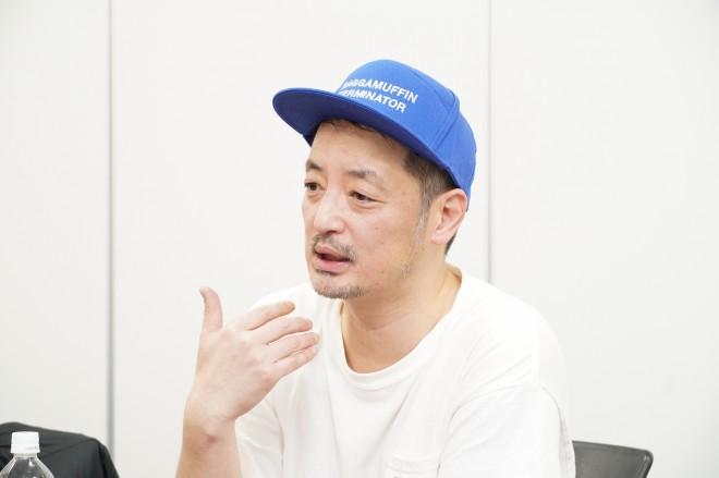 """『KAMINOGE』編集長の""""山本氏"""""""