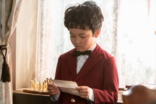 10歳の久志(山口太幹)(C)NHK