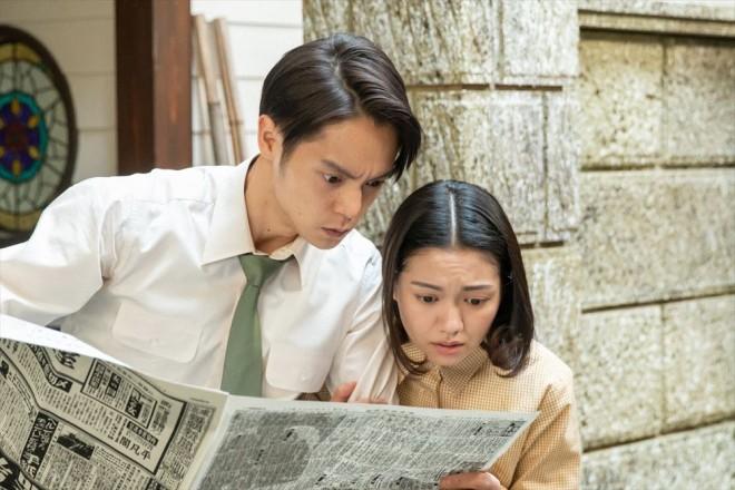 新聞でオーディションの合格者が発表されたが…(C)NHK