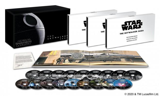 『スター・ウォーズ スカイウォーカー・サーガ 4K UHD コンプリートBOX(数量限定)』50,000円+税