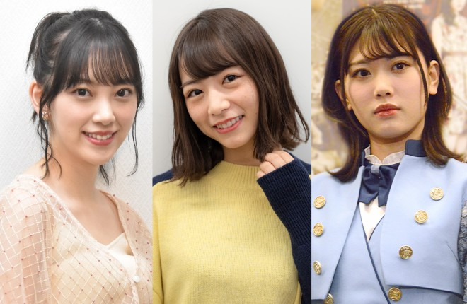 (左から)堀未央奈、北野日奈子、伊藤純奈(C)ORICON NewS inc.