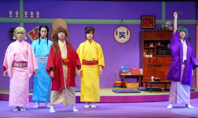 舞台『じょしらく』2015年6月の初演時 (C)ORICON NewS inc.