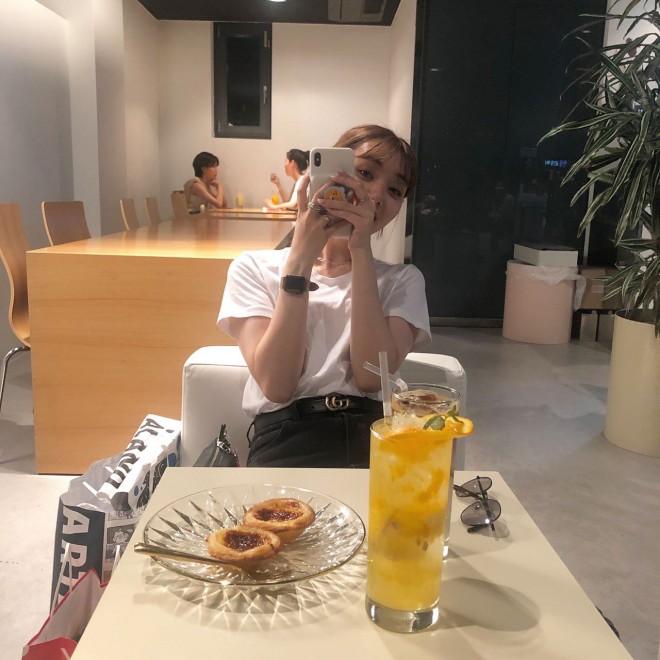 ヨンナムドンのカフェ