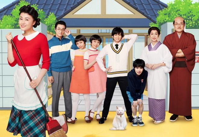 サザエ役に藤原紀香、波平は松平健が演じた舞台『サザエさん』