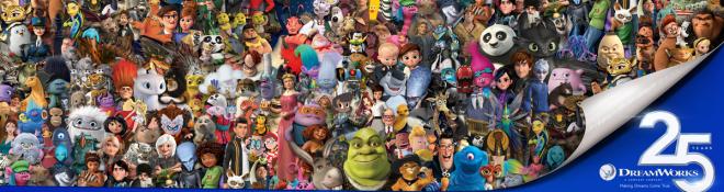 25周年となるドリームワークス・アニメーションは、あの『シュレック』や『マダガスカル』、『カンフーパンダ』『ヒックとドラゴン』シリーズなど多数の名作を世に送り出している。