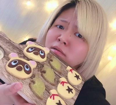 クッキーを作った、世志琥