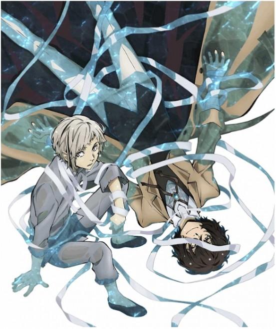 『文豪ストレイドッグス』第1巻 Blu-ray、KADOKAWA/角川書店、2016年(右が太宰治)