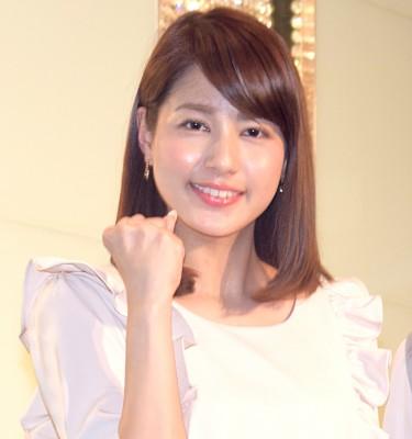 品の良さが朝から癒されると人気のフジテレビアナウンサーの永島優美アナ