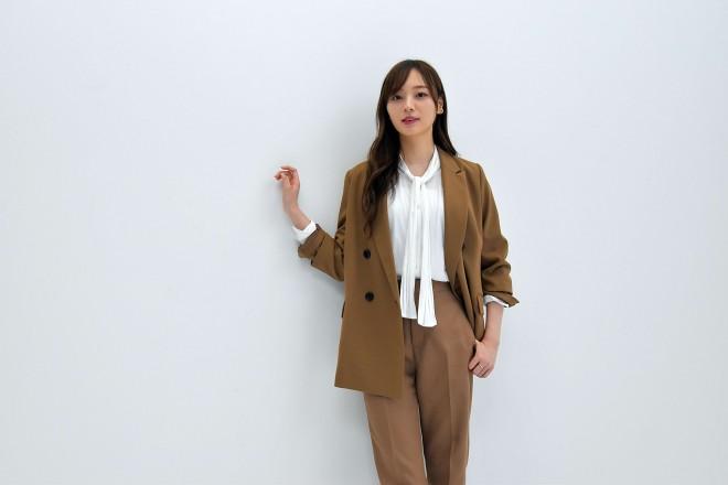 9月29日にソロ写真集『夢の近く』をリリースする梅澤美波 (C)oricon ME inc.