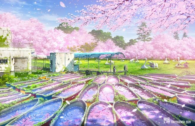 井の頭公園幻想