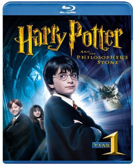 映画『ハリー・ポッターと賢者の石』Blu-ray、ワーナー・ブラザース・ホームエンターテイメント、2014年