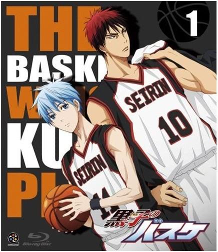 アニメ『黒子のバスケ』1 Blu-ray、バンダイビジュアル、2012年