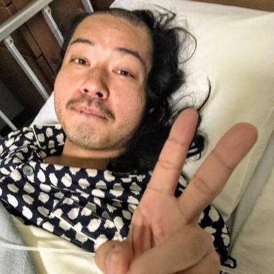 入院中のお侍ちゃん(写真:本人提供)