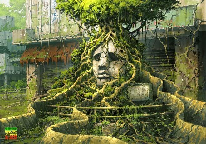 お気に入りの作品「渋谷モヤイ像」