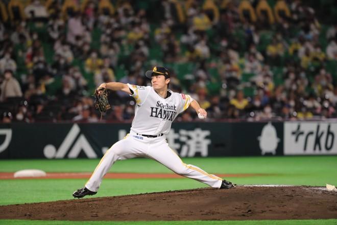 和田毅投手(C)SoftBank HAWKS