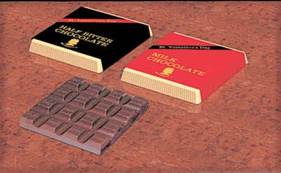 1958年にバレンタイン向けに登場した初のチョコレート