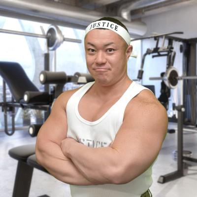 ジャスティス岩倉 筋肉タレント ジャスティスプロジェクト代表