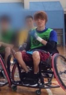 車椅子バスケを楽しむならちゃんさん(画像提供:ならちゃんさん)