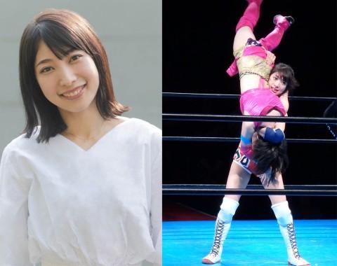 病気を克服し、女優、女子プロレスラーとして活躍する向後桃さん
