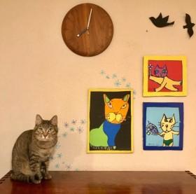 7歳のピカソ誕生?全身全霊で創作する息子を見守る母の想い「君の描くネコは世界で1番愛しい」