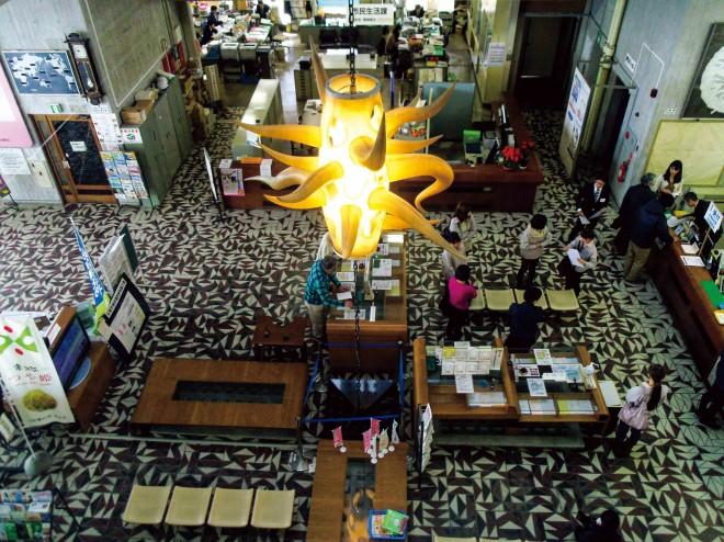 レトロな雰囲気漂う、山形県寒河江市の庁舎